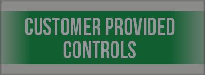 Customer Provided Controls